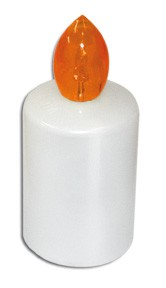 Vklad hřbitovní LED 88dní oranžová