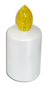 Vklad hřbitovní LED 88dní žlutá